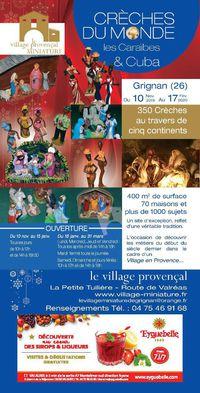 Crèches du monde au Village Provençal Miniature