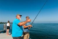 Activité coup de coeur :Initiation à la pêche au port de Nernier