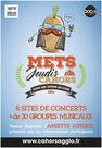 Mets Jeudis Cahors : Concerts dans la Ville