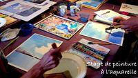 Stage de peinture à l'aquarelle