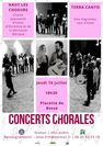 Concerts Chorales