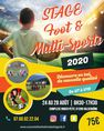 Stage foot & multi-sports