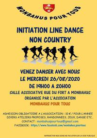 Initiation Line Dance non country