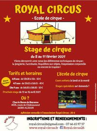 Stages de Royal Circus