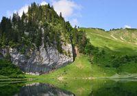 La montagne et l'homme : le vallon glaciaire d'Arvouin