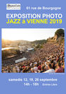 "Expo Photo ""Jazz à Vienne 2019"""
