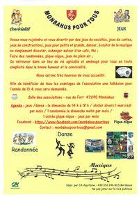 Monbahus pour tous : jeux/danse