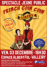 Spectacle jeune public : French coin coin circus