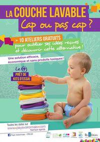 """Atelier """"Initiation aux couches lavables"""""""