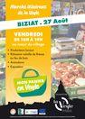 """Marché itinérant de la Veyle """"Mon panier en Veyle"""" à Biziat"""