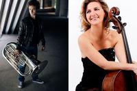 Concerts classiques / Thomas Leleu + Ophélie Gaillard