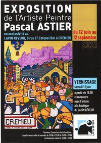 Exposition de l'artiste-peintre Pascal Astier