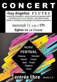 Concert en l'église - Guy Angelloz