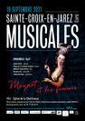 """Concert """"Les Musicales"""" : Mozart et les femmes"""