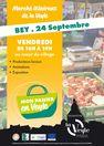 """Marché itinérant de la Veyle """"Mon panier en Veyle"""" à Bey"""