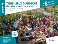 """Exposition """" Tiers-Lieux d'Ardèche, des lieux peu communs """""""