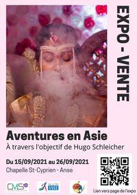 Exposition Aventures en Asie, à travers l'objectif d'Hugo Schleicher