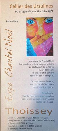 Exposition Chantal Noel
