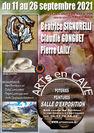 ARTs EN CAVE : Exposition peintures, sculptures, céramiques et artisanat