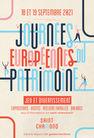 Journées Européennes du Patrimoine exposition à la Turbine créative sur le thème des matières à l'?uvre et mains d'enfants