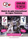 Match de gala international de ligue féminine