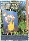 """Exposition collective """"Art&Poésie au Jardin !"""""""
