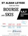 bourse aux skis 2021 à St Alban Leysse