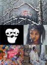 Exposition de peinture : Joyeux bazar