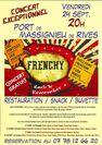"""""""Frenchy"""" en concert au Port de Massignieu de Rives"""