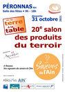 """Salon des produits du terroir """"De la Terre à la Table"""""""