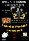 Soirée concert avec le groupe Gipsy Events