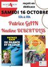 Dédicace Patrice Gain et Nadine Debertolis