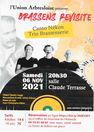 Concert chanson-variété : Brassens revisité par le Trio Brassenserie Canto Nékon