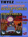 Exposition sculptures et peintures