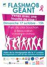 Octobre Rose en Pays Mornantais : Flashmob géant