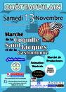 Marché de la Coquille St Jacques et de la Gastronomie