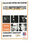 "Concert pop rock ""Les Impromptus"""