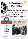 """Projection du film """"Un Triomphe"""""""