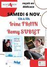 Dédicace Irène Frain et Romy Sublet