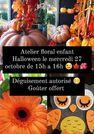"""Atelier floral enfant """"Spécial Halloween"""""""