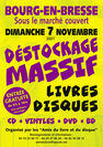 Déstockage Massif Livres-Disques-Cd-Vyniles-Dvd-Bd