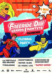 Freeride day : Fête de fermeture des Grands Montets