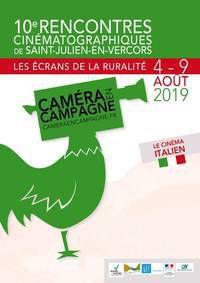 """10ème édition - Rencontres cinématographiques """"Caméra en campagne"""" : cinéma Italien"""