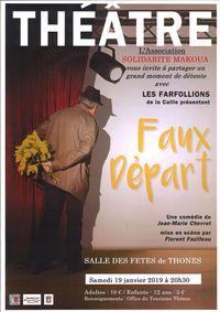 """Théâtre """"Faux départ"""""""