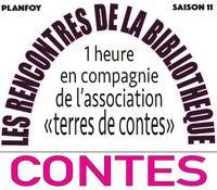 """Les rencontres de la bibliothèque """"Contes"""""""