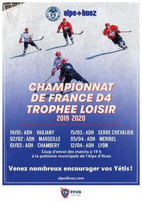 Exhibition de hockey sur glace