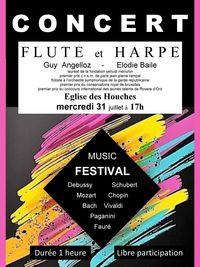 Concert flûte et Harpe