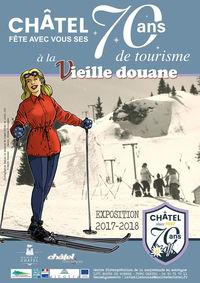 """Exposition """" Châtel since 1947 : la station fête ses 70 ans ! """""""