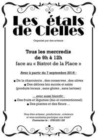 """Marché """"Les Etals de Clelles"""""""