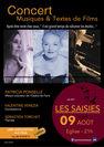 Concert : musique et textes de films - Patricia Ponselle